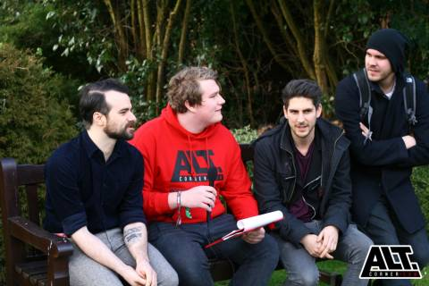 Interview with Arcane Roots at Takedown Festival 2015