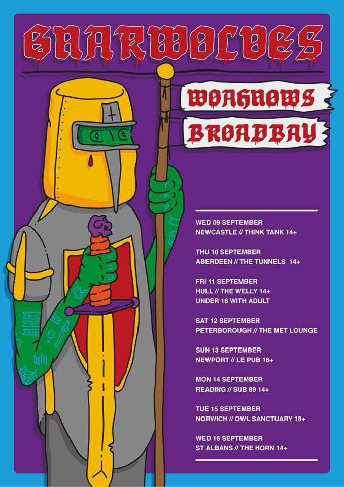 WOAHNOWS Tour Dates