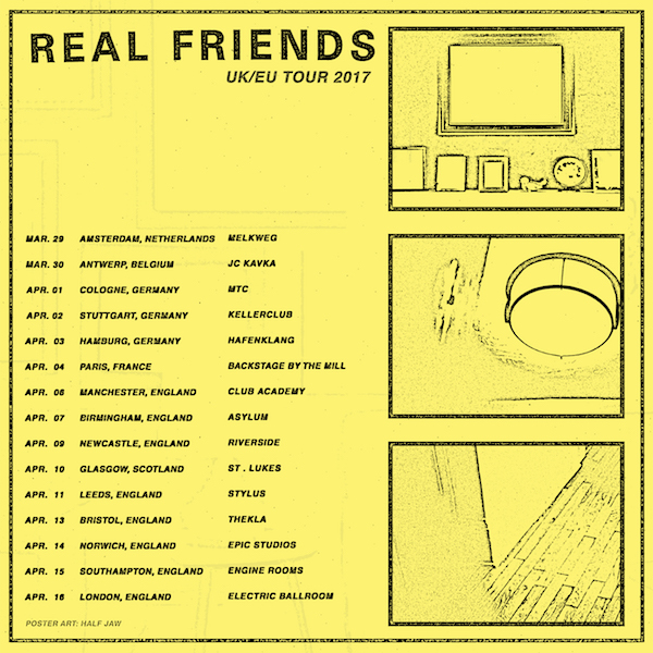 real-friends-uk-tour-poster