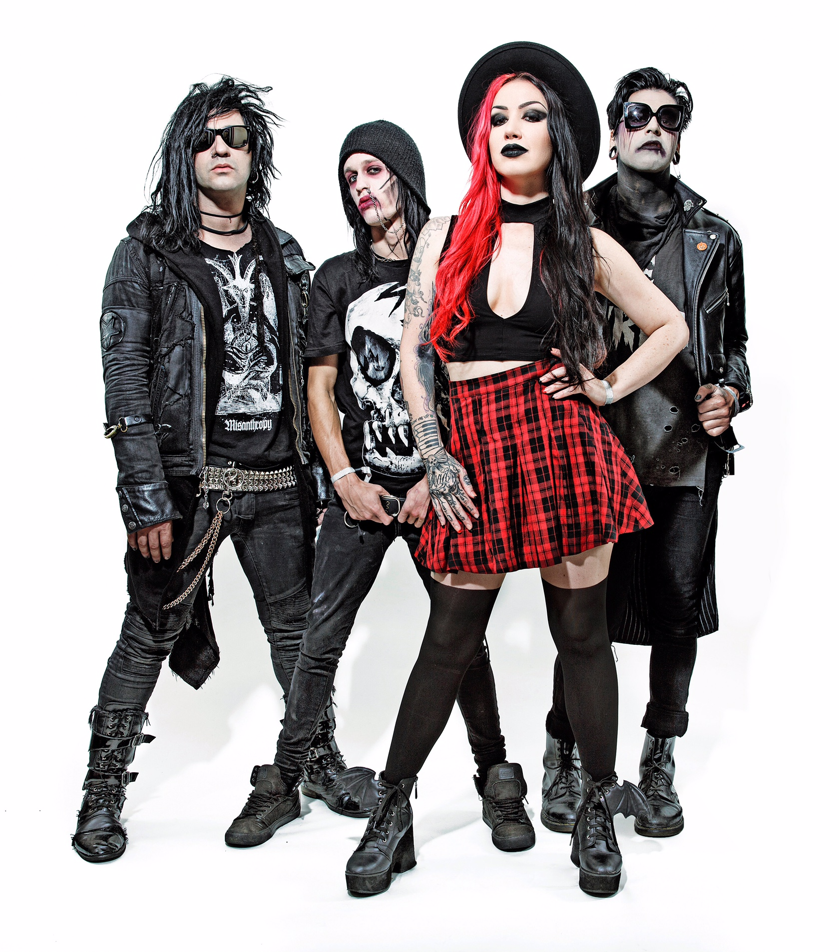new years day reveal gangsta video! - altcorner