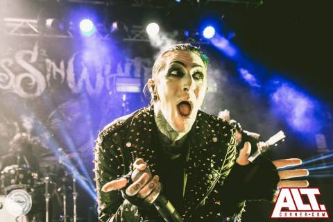 Motionless In White – O2 Academy – Bristol-7